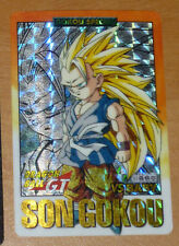 DRAGON BALL GT Z DBZ HONDAN PART 28 CARDDASS CARD PRISM CARTE 93 JAPAN 1996 NM--