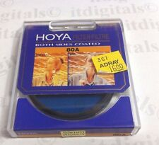 55mm Hoya 80A 80-A 80 A Light Balancing Blue Glass Lens Filter 55 mm Japan