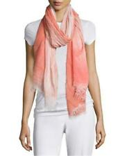 NWT Eileen Fisher Modal & Silk Blend Scarf  Floral Hand Dyed Ombre O/S $148