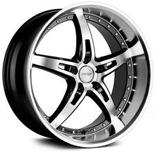 "19"" MRR GT5 Wheels For Pontiac GTO 19x8.5 / 19x9.5 Staggered Deep Dish Rims Set"