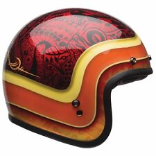 2017 Bell Custom 500 Hart Luck Open Face Motorcycle Retro Bobber Helmet Large