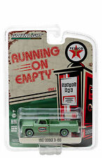 GREENLIGHT 1967 DODGE D-100 TEXACO PICKUP TRUCK 1/64 DIECAST MODEL  41010 C