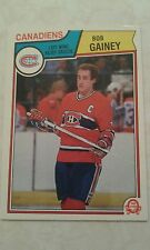 1983-84 OPC O-Pee-Chee Bob Gainey Montreal Canadiens Card 187