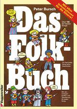 Peter Bursch, Das Folk-Buch - mit über 100 Songs für Gitarre