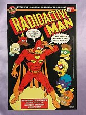 RADIOACTIVE MAN #679~MATT GROENING~SIMPSONS/HOMER~WITH EXCLUSIVE TRADING CARD