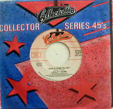 """7"""" 60s! LESLEY GORE : Judy´s Turn To Cry + She´s A Fool"""