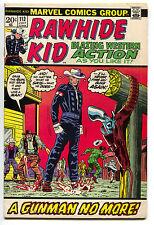 Rawhide Kid 113 Marvel 1973 FN VF Cowboy Western Gun Fight Stan Lee
