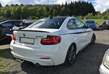 Carbon Process Trunk Spoiler for BMW F22 P Type 228i xDrive 235i Coupe 2014+