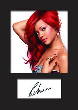 RIHANNA #1 Signed Photo Print A5 Mounted Photo Print - FREE DELIVERY