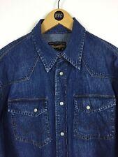 Wrangler Denim Shirt / Medium / Cowboy / Western / Trucker / Classic