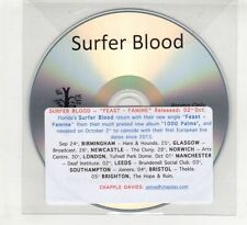(HE573) Surfer Blood, Feast - Famine - DJ CD