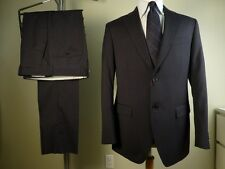New! BALLANTYNE suit 48/38 Blue Stripe Made in Italy