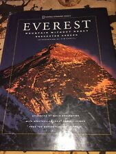 1997 Everest: Mountain Without Mercy -National Geographic HC+DJ Free Shipping