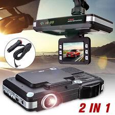 2 in 1 MFP 5MP Car DVR Recorder +Radar Laser Speed Detector Trafic Alert Device