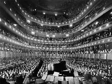 MUSICA METROPOLITAN OPERA HOUSE NEW YORK Auditorium poster art print bb3203a