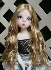 "Doll Wig, Monique Gold ""Ginger"" Size 4/5 in Light Peach w Ginger Brown"
