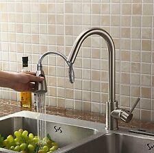 nickel spazzolato tirare fuori da cucina lavello rubinetto miscelatore SWRWE6457