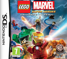 Lego marvel super heroes l'univers en peril 3ds nintendo boîte et instructions