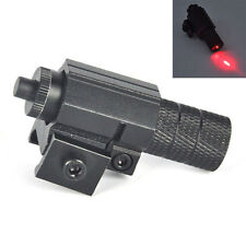 Tactical Red Beam Laser Dot Sight Scope Picatinny Mount For Gun Rifle Pistol BP