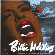 Billie Holiday The Complete Commodore Masters UK LP Sealed NEW COPY Jazz