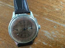 Vintage Lebois & Co Swiss Chronograph Valjoux 22 Watch