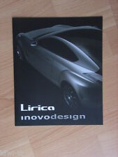 Inovo Design Lirica Concept Car Prospekt / Reprint from  Auto & Design, I/GB