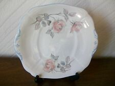 Vintage Royal Imperial Bone China Cake Plate with Handles, Dia. 25.0cms