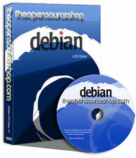 Debian Linux 8.4.0 (Jessie) Live Bootable Startup DVD - Ultra Robust & Stable