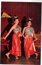 Thaïlande - cpsm - Young attractive Thai-Girls dancing in Thai-style