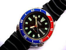 Vintage Seiko Divers watch 6309 -7290 Automatic 17 jewels  watch is working  ''