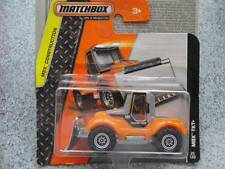 Matchbox 2014 #025/120 MBX TKT+ orange Tractor snow Plow MBX Construction Case C