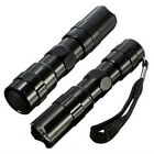 Portable 3W Mini LED Flashlight Torch Light Lamp Outdoor Camping 1AA Black