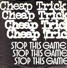 """7"""" Cheap Trick – Stop This Game // Germany 1980"""