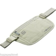DesignGo RFID Blocking Waist Stash Passport Money Belt Travel Pouch 675 Tan