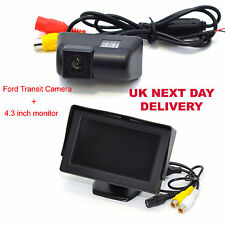 "FORD TRANSIT REAR VIEW REVERSING CAMERA WITH 4.3"" Digital TFT LCD Colour Monitor"