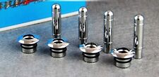 135- CZR Cruze Chevrolet Accessories Door Lock Knob and Ring Chrome Shiny (Set 4