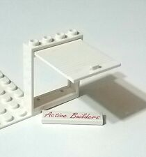 Lego Lift Door Panel & Frame White 3661 Police Van Truck