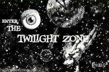 THE TWILIGHT ZONE CLASSIC 1950s 1960's SCI FI TV TELEVISION ARTWORK POSTER PRINT