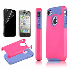 Hybrid Shock Proof Protective Impact Tough Hard Case Cover For Apple iPhone 5/5s