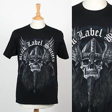 BLACK LABEL SOCEITY RETRO STYLE BAND T-SHIRT USA HEAVY METAL LOS ANGELES SKULL M