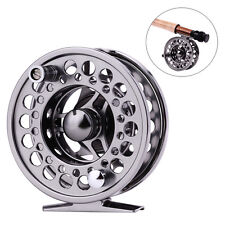 Alloy Fly Fishing Reel 5/6wt 3.35in Metal Portable Fly Fishing Tackle Reels Tool