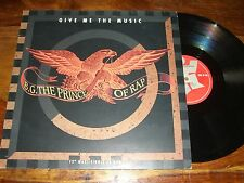 """MAXI 45 TOURS / 12"""" MAXI--B.G. THE PRINCE OF RAP--GIVE ME THE MUSIC--1991"""