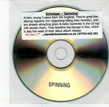 (EH30) Echotape, Spinning - 2012 DJ CD