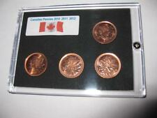 Canadian Pennies  2010  2011  2012  Commemorative Collection Set
