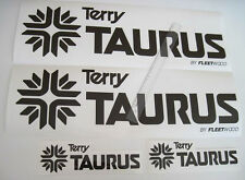 TERRY TAURUS FLEETWOOD DECALS STICKERS RV CAMPER 5TH WHEEL TRAILER