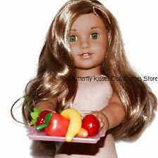 5 A Day Fruits & Veggie On A Tray Doll Food For 18 in American Girl Dolls
