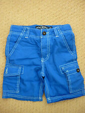 MINI BODEN BOYS SUMMER CARGO SHORTS in DARK BLUE. 3 YEARS. BNIB. FAB. 22353