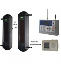 1B-100 GSM 900m Wireless Perimeter Beams with Receiver & KP H/D GSM Auto-Dialler