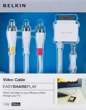 NEW Belkin Multi-purpose AV and charging Cable - Retail Packed