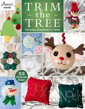 Trim the Tree: Christmas Ornaments to Stitch (Annie's Sewing), Annie's, New Book